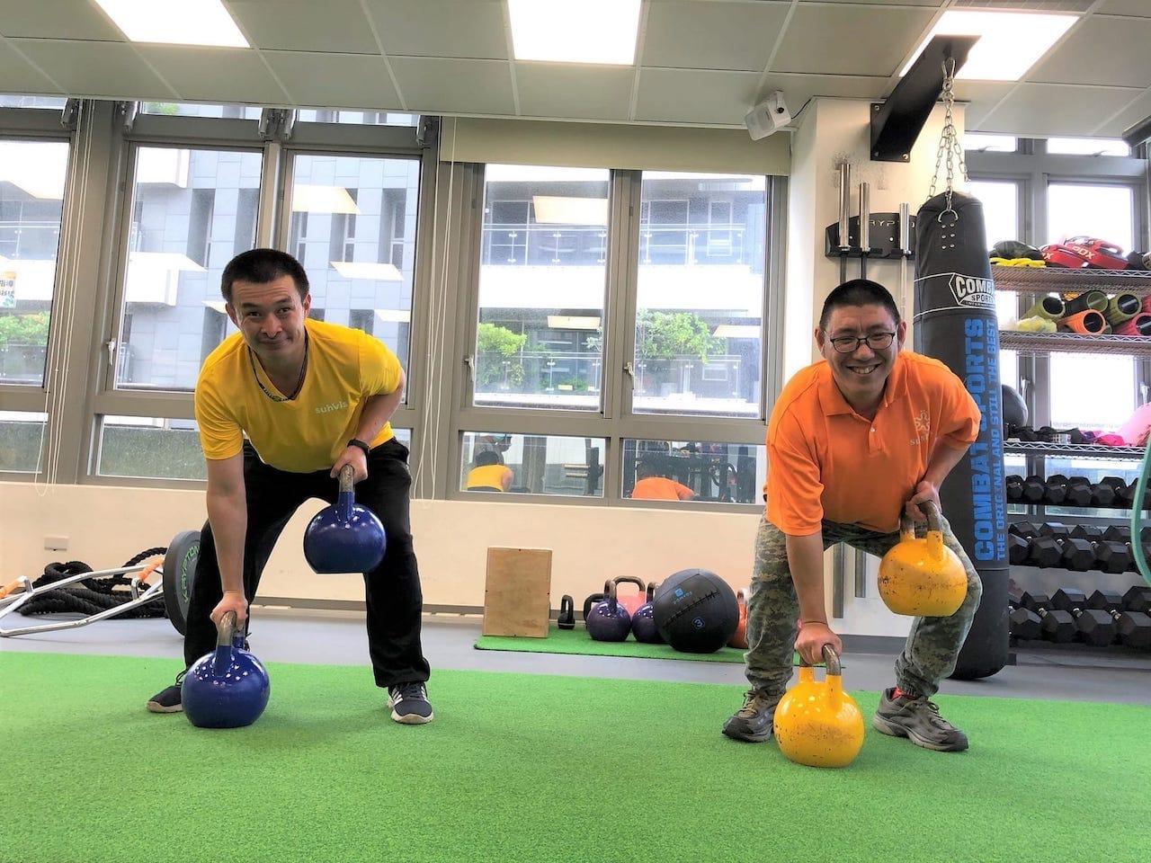 35歲後易早衰!陽光助身障者運動抗老提升活動力