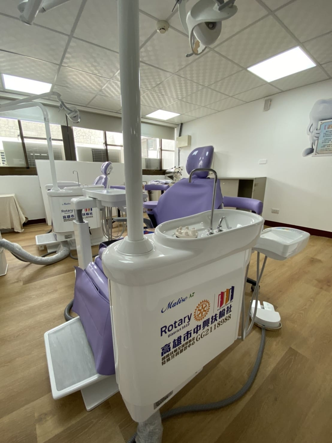 扶輪有愛,從齒相伴—特殊牙科健診中心捐贈揭牌活動